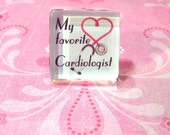 My Favorite Cardiologist Pin - Great Gift