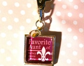 Special Aunt.... Keychain Gift. Personalize it