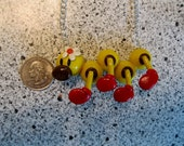 Super Mario Wiggler Necklace
