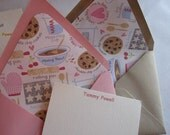 Personalized Note Card Set  Cookies/Baking