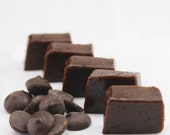 FiRST CLASS - Individually Wrapped DARK CHOCOLATE Caramels- 1/2 Pound