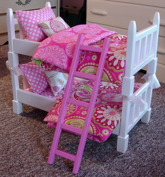Bunk Bed Dolls: AVAILABLE For MARCH Doll Bunk Bed Single-sized Double