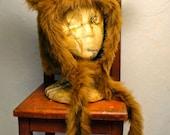 Bear Wookie Head Warmer Hat