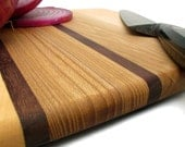 Natural Cutting Boards . Red Maple Medium Square - The Cutlet - Sustainable Harvest Wisconsin Wood - Timber Green Woods