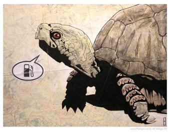 Gas Pump - Turtle