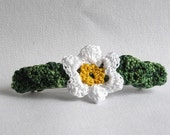 Solitary Sweet Blossom French Barrette