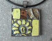 AWAKEN - Mosaic art pendant