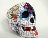 VIVA LA VIDA - Day of the Dead sugar skull mosaic