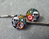 ONE SOUL - Day of the Dead hair pins