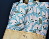 Large Market Tote in Heather Bailey Nicey Jane & Linen