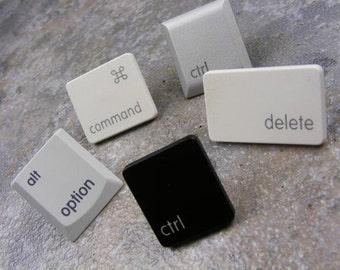 iTacks - Thumbtacks, bulletin board, Upcycled, Recycled, Mac, Apple, PC, Computer, Key, keyboard, gift, birthday, Teacher Gift, Student Gift
