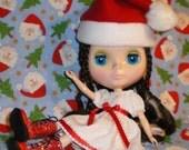 Darling Dolly --- Tis the Season --- Blythe Santa Hats