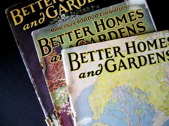 1927 Design Magazines 3 Issues Of Better Homes By