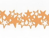 Quickutz Set of 2 Pretty Bazzill Bling Star Border Die Cuts