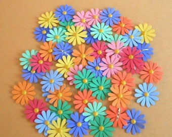 Nice Bright Daisy Die Cut Flowers - Set of 24 - Bazzill