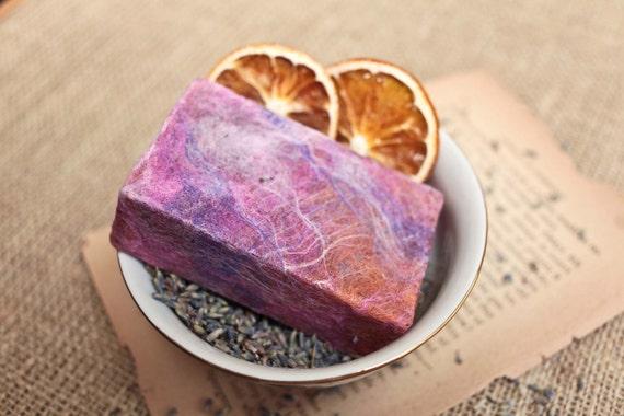 Organic Felted Soaps - Citrus Lavender