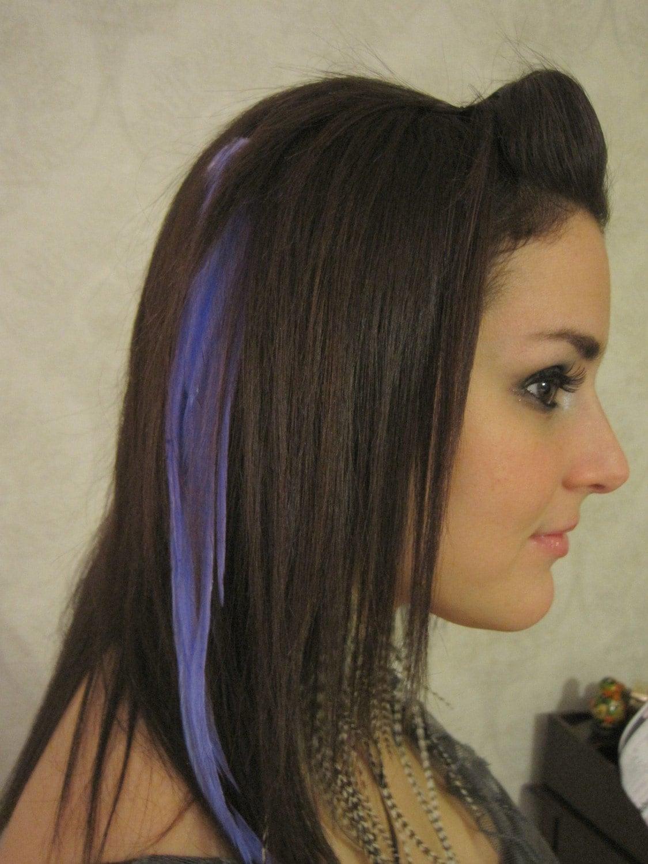 purple underneath black hair purple ombre hair blue underneath hair ...