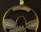 Missouri Cut Coin Jewelry