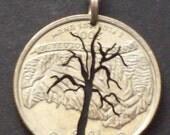 Tree Pendant in Quarter