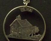 Iowa Cut Coin Jewelry