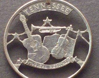 Tennessee Cut Coin Jewelry