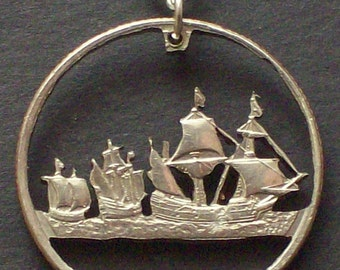 Tall Ships Pendant from Quarter