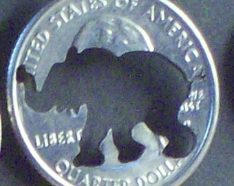 Elephant Cut Coin Jewelry