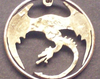 Dragon Quarter Cut Coin Jewelry