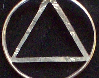 AA Hand Cut Coin Jewelry
