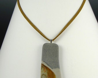 Stone Landscape Necklace