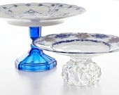 Custom Cake Stands Vintage Wedding Decor RESERVED FOR SHELBY E. Isabella Designs As Seen In Martha Stewart Weddings.