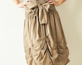 Baby Doll.... Brown Cotton Dress/Skirt