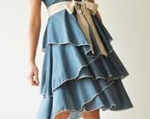 Waft  ...  Blue Cocktail Dress