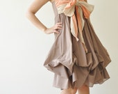 Vary ...  Brown Cocktail Dress