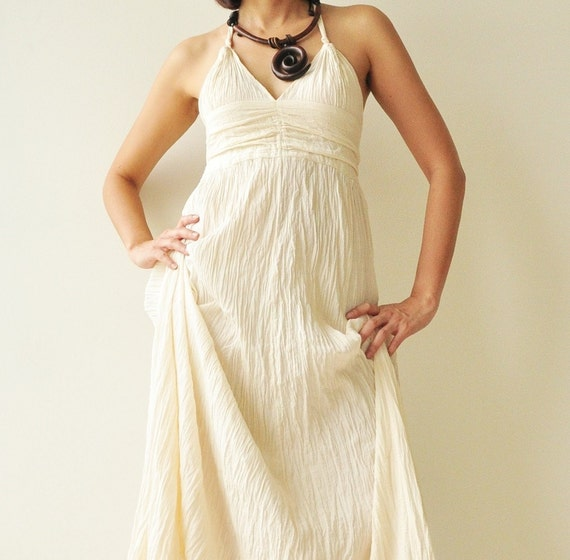 Like me.....White Cotton long dress