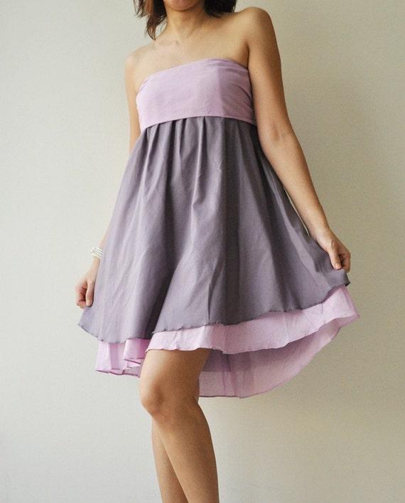 SALE 20% Wind of change Part II.... Purple Cotton Dress