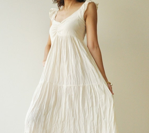 Wing.....Cotton long dress