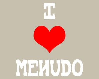 I Heart Menudo Mexican Pop Art Print