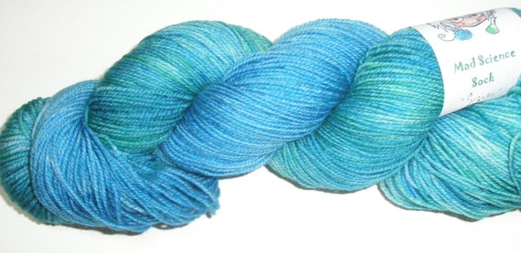 Superwash Merino, Fingering Weight Yarn  - Scarab