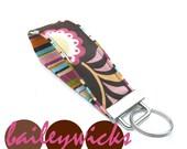 Wrist Key Chain - Key Fob - WRISTLET - Key Chain- flower power -