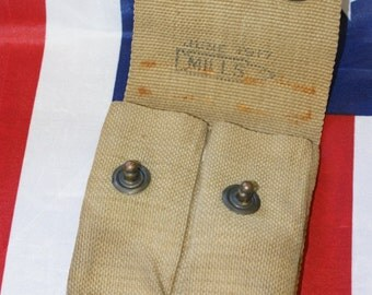 WWI 1917 Authentic Mills Magazine Pouch