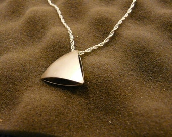 Reversible Sterling Silver Necklace