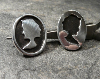 Sterling Silver  Earrings OOAK