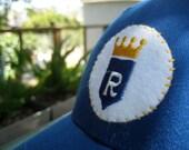 Kansas City Royals Ballcap with Vintage 1970's Era Felt Patch