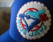 Toronto Blue Jays Ball Cap with 1970s Era Vintage Felt Patch