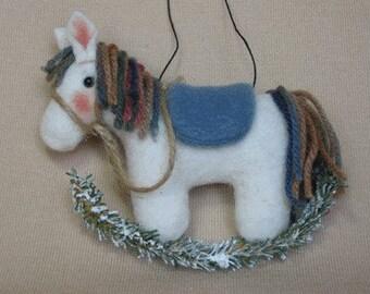 "Ornament pattern:  ""Rocking Horse"" - #462"