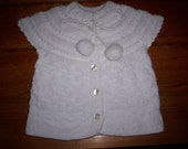 Knitted Beautiful Girl's Vest