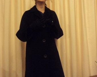 Vintage Made in Australia Esther's Fashions Sydney Wool Coat