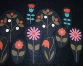 SALE 10 flowers No Sew Iron On appliques
