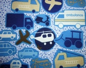 10 fabric dinky vehicles appliques grab bag freeshipping